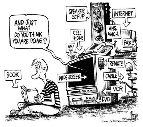 television vs books